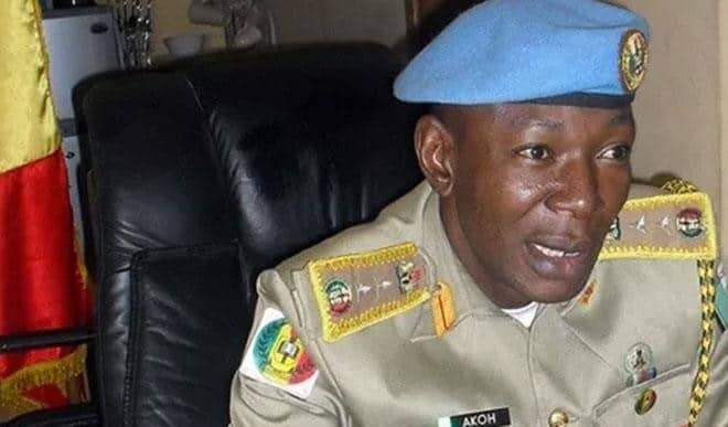 Dickon Akor, embattled Peace Corps Commandant