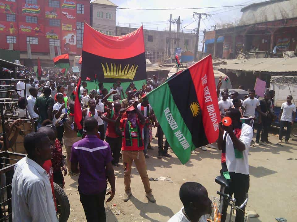 Prof Ben Nwabueze on why IPOB cannot be labelled a terrorist organization