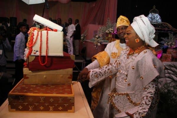 Obasanjo's son weds Baba Ijebu daughter, bluffs his mother's