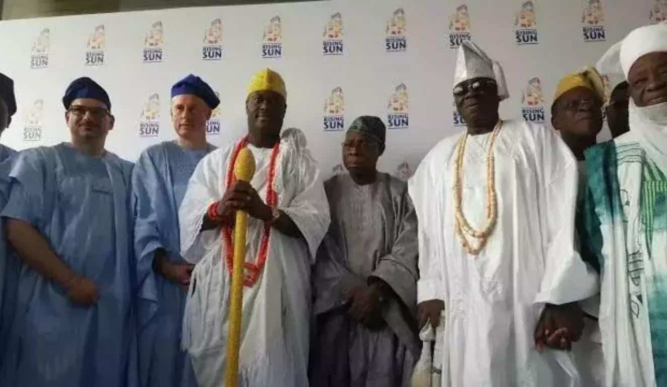 #Breaking: Oba of Lagos, Oba Akiolu's Palace Gutted by Fire