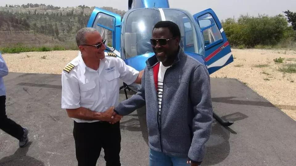 TB Joshua Says He Is Relocating To Israel..
