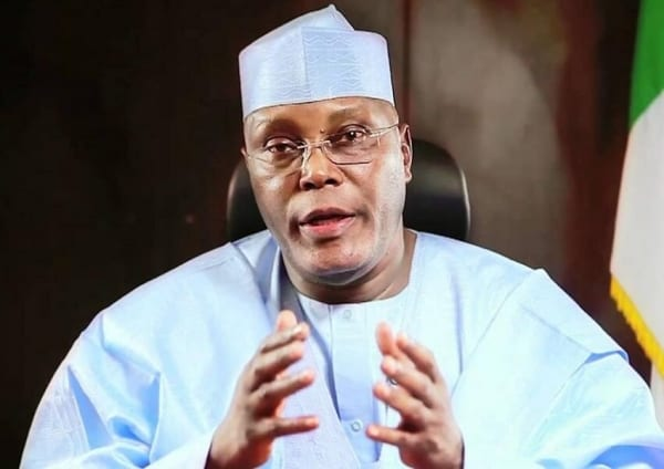Better late than never! Buhari sympathises after Atiku resigned from APC