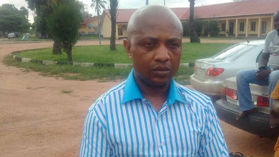 Evans was arrested yesterday at his house at Magodo GRA Phase 2, Lagos