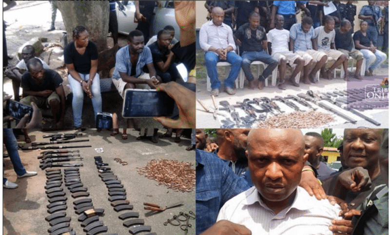 Evans-and-gang-members-arrested