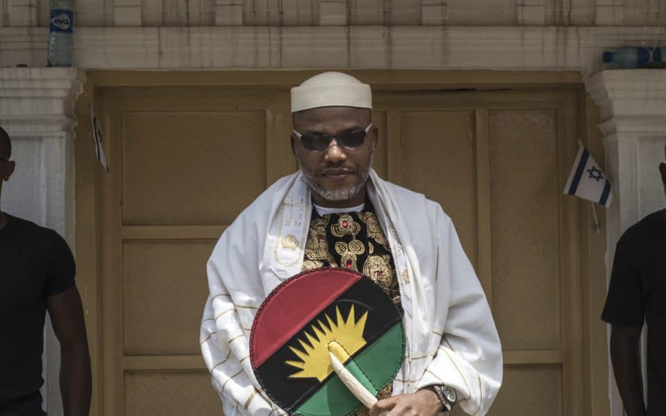Biafra: Nnamdi Kanu Lists Three Things Fulani Control In Nigeria Like Britain