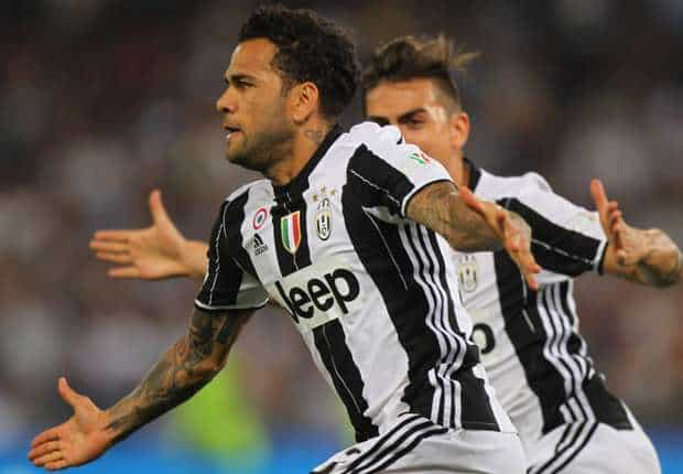 Dani Alves free to leave Juventus by 'mutual consent'