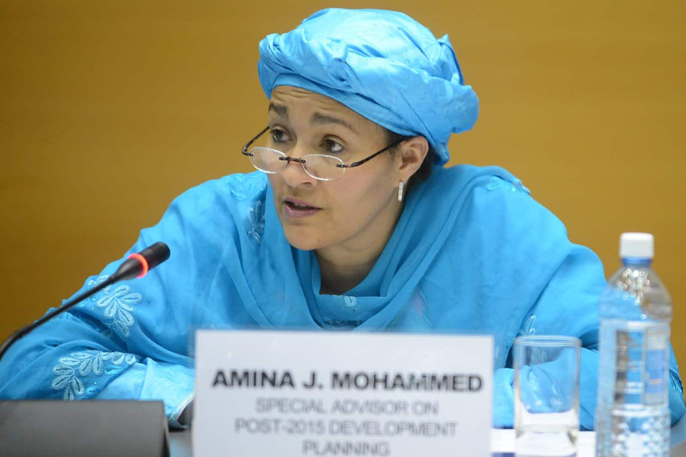 Amina Mohammed1 - Video: Why I Am So Sure A Woman Would Succeed Buhari In 2023 – Amina Mohammed