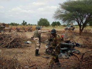 Bok Haram Properties Motor Cycle By Nigerian Army 300x225 - Heavy Gunshots, Explosions Rock Maiduguri