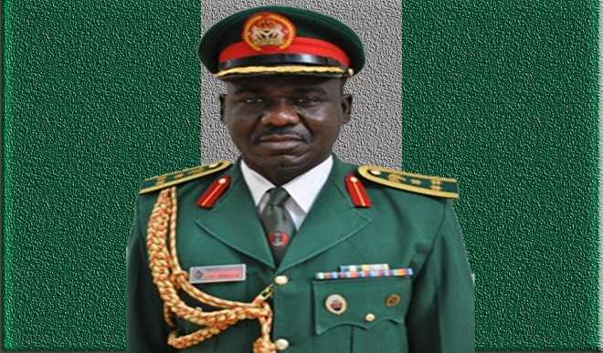 Chief of Army Staff Lt. Gen. Tukur Buratai. - General Tukur Buratai Remains Chief Of Army Staff, Nigerian Army Reveals Why