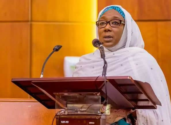 Khadija Bukar Abba Ibrahim, the wife of senator whose video with 2 women leaked online Read