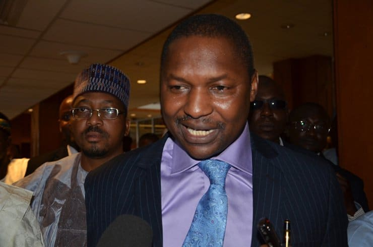 'You're A Confused Old Man With Clouded Judgement'- Malami Knocks Sagay