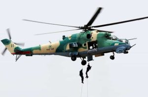 Nigerian Air Force fighter jets 300x197 - Scores Of Bandits Killed As Military Jets Bombard Kaduna Forests