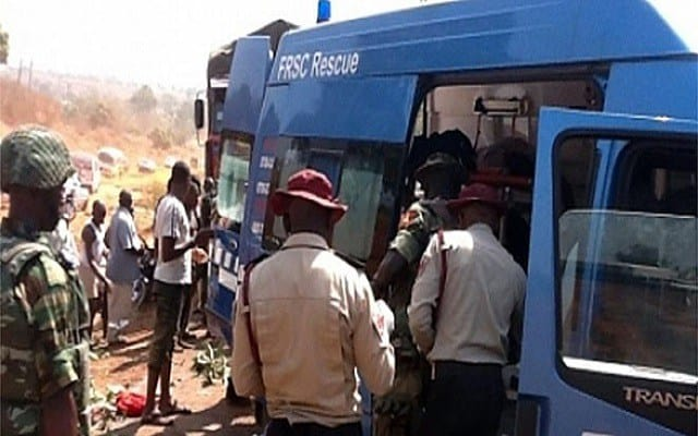 Image result for road accident ondo
