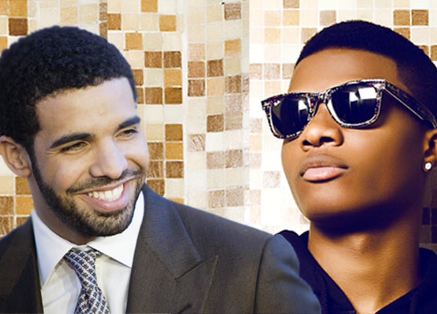 WIZKID DRAKE - Wizkid In Tears As Drake Bring Him Out At His Concert In London