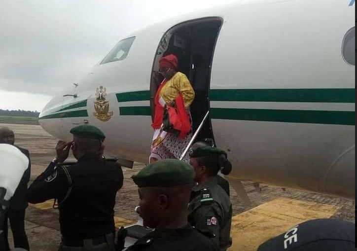 Flash: Aisha Buhari Leaves Nigeria Over 'Crisis In Presidency'