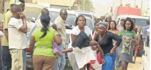 Toxic gas attack causes over 400 Jehovah's Witnesses to pass out in Angola (saharareporters)