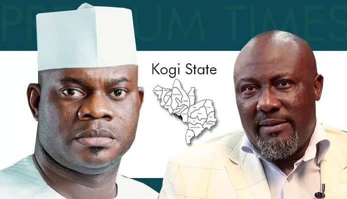 Battle Line Drawn As Yahaya Bello Dares Dino Melaye