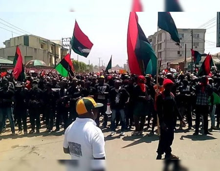 Biafra Crowd