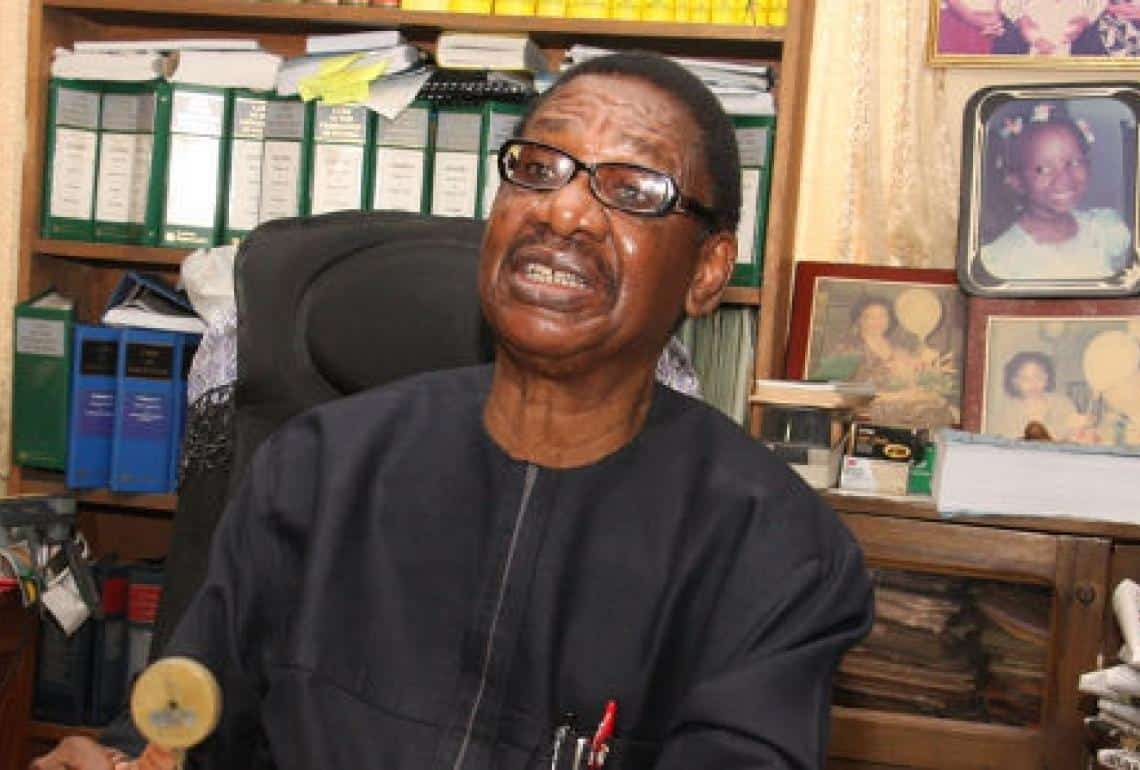 EFCC: Why Malami Won't Let Bawa Succeed – Sagay