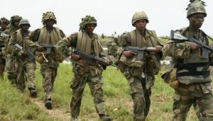 Army 300x171 - Bandits Willingly Surrender Themselves, Weapons To Troops In Zamfara State
