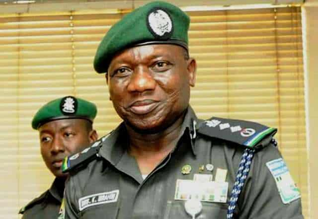 Ibrahim Idris, the Inspector-General of Police