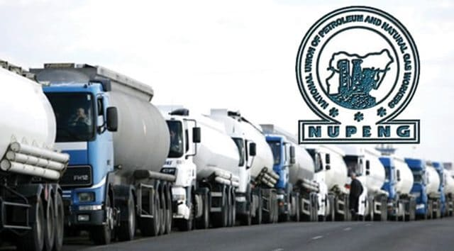 Breaking: Fuel Scarcity Looms As NUPENG Orders Tanker Drivers To Withdraw From Lagos