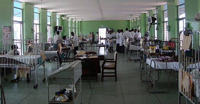 Nigerian-Hospital patient