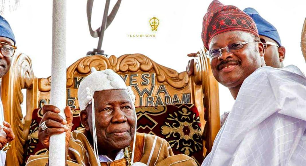 Olubadan and Ajimobi