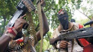 gunmen1 300x169 - Catholic Bishop, Chikwe Moses Abducted In Imo