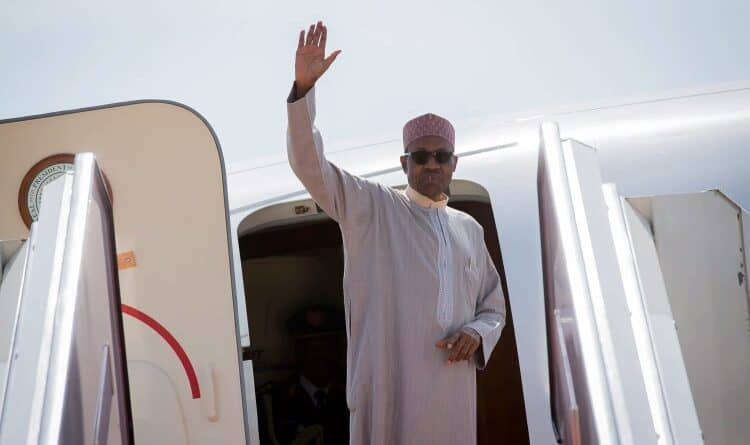 Breaking: Buhari Jets Out Of Nigeria For The First Time Since Coronavirus