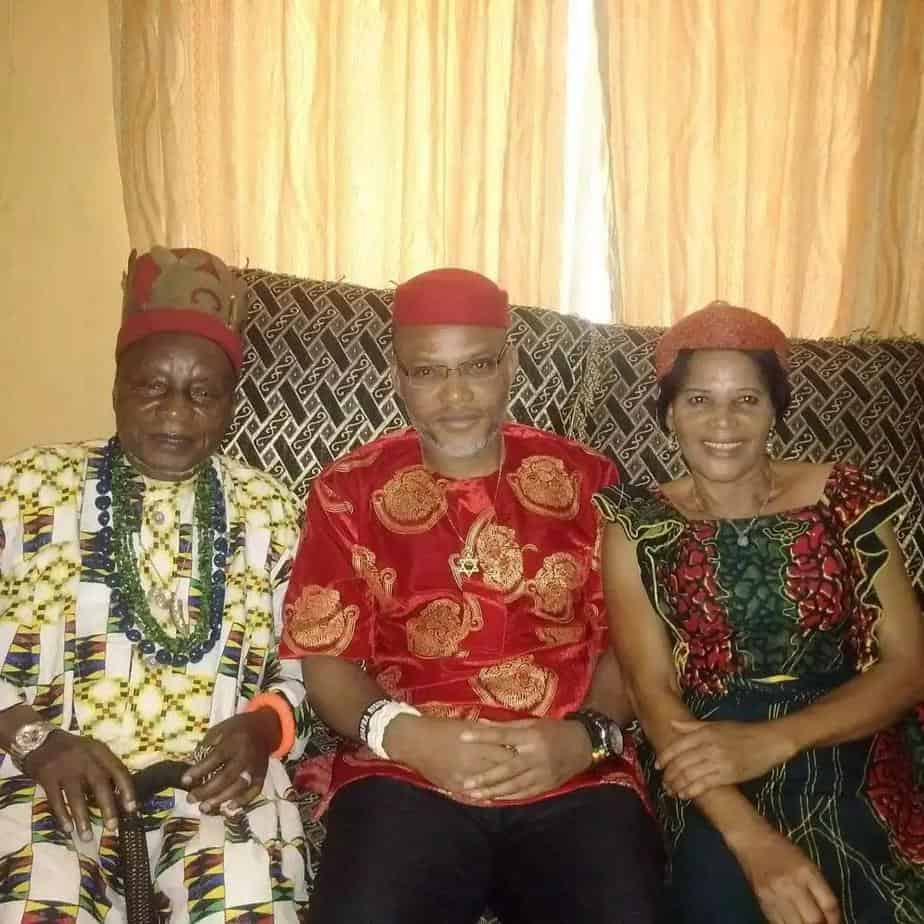 Biafra: Trouble Looms As Nnamdi Kanu's Kinsmen Ask IPOB Members To Stay Away From Parents' Burial