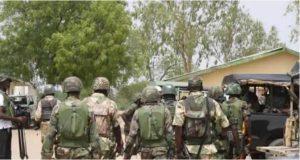 soldiers 300x160 - Gunmen Kill One Person Near Kaduna Train Station