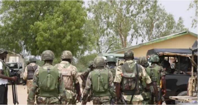 soldiers - Boko Haram: ISWAP Allegedly Kills 10 Nigerian Soldiers, Seize Amour Tanks, Vehicles