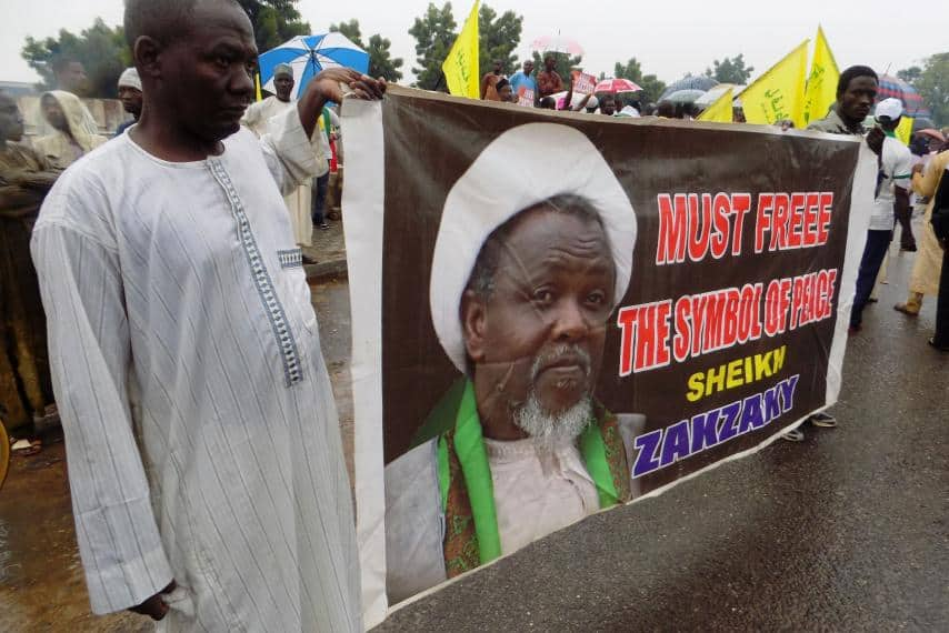 Shiites demand release of El-Zakzaky
