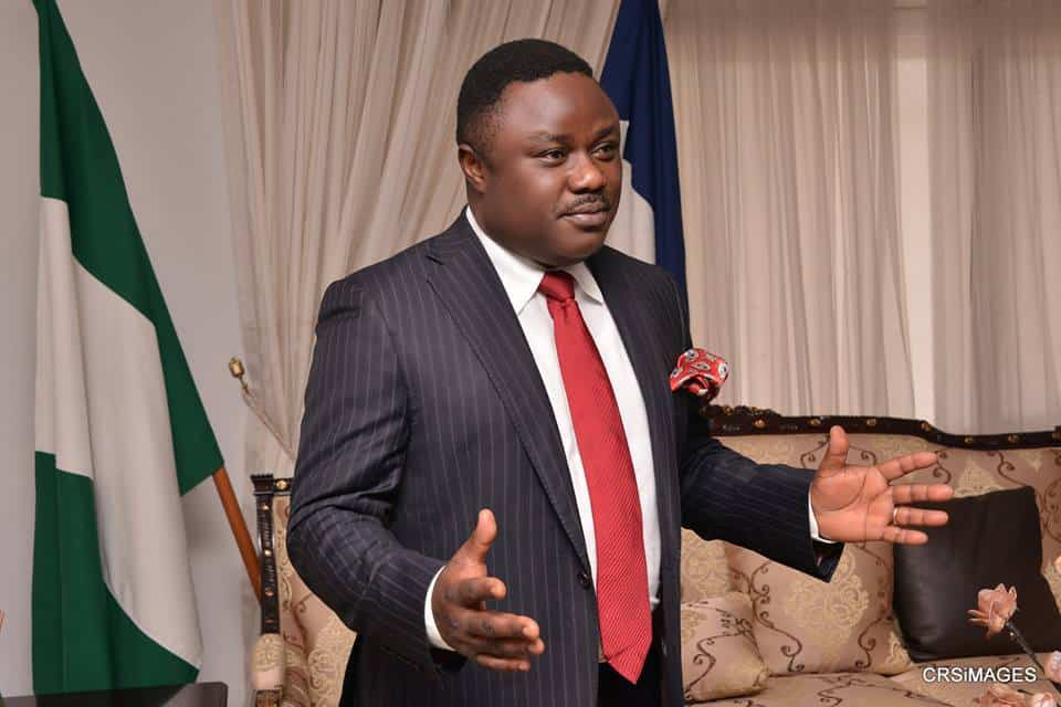 Cross River governor Ben Ayade