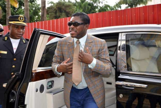 Equatorial Guinea leader's son gets suspended jail term in Paris graft trial