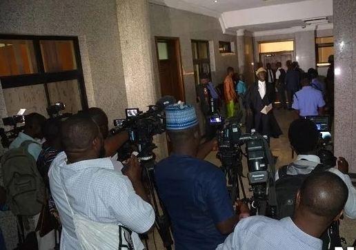Kanu's trialbarred journalist