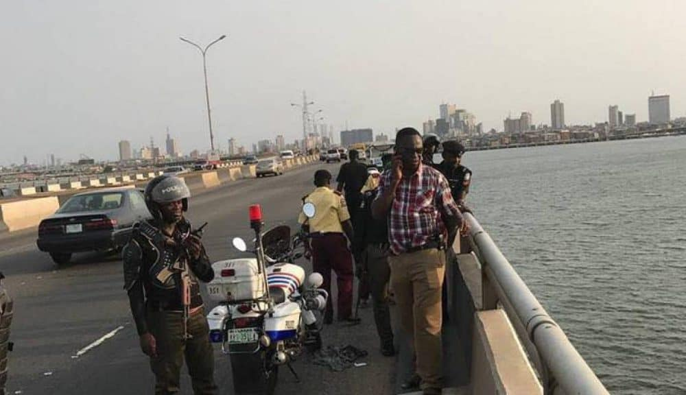 Lagos Police Confirms Identity Of Man Who Jumped Into Lagoon