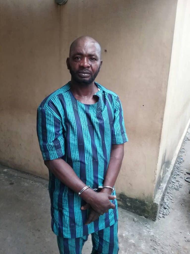 The murder suspect, Ismaila Adeyemi