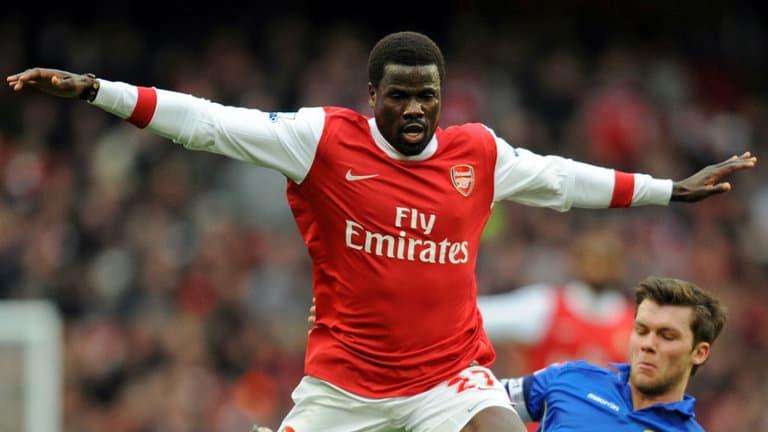 Eboue during his playing days at Arsenal (Photo Credit: Skysports.com)