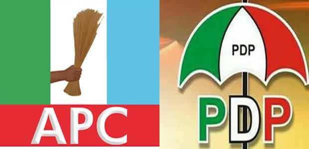 pdp vs apc - Supporters Clash In Kano State As PDP Governorship Candidate And APC State Chairman Vote In Same Unit (Video)