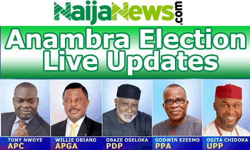 Anambra Governorship Election Live Update