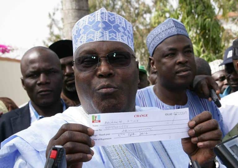 Atiku's resignation from APC a welcome development ―Bode George