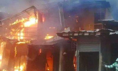 Fire Out break, Abuja Power Transmission Station,