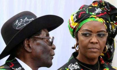 Four appear in court for booing Grace Mugabe