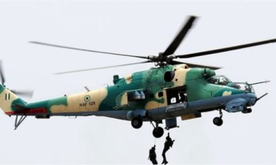 NAF Bombs Boko Haram Camp