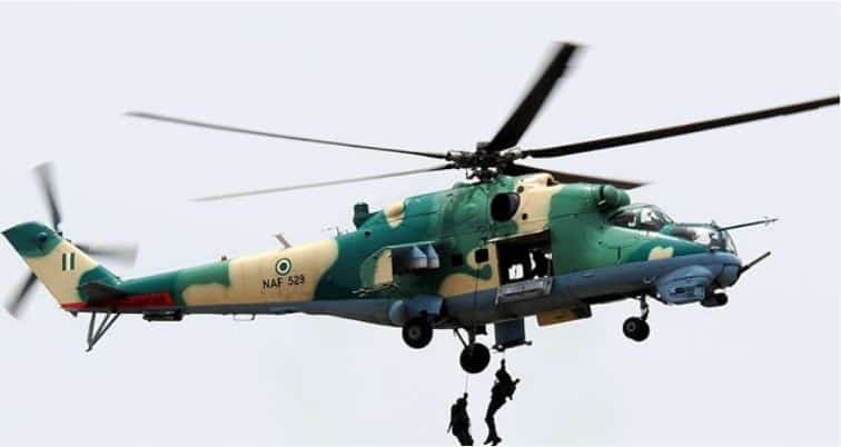 NAF helicopter - NAF Loses Airman In Parachuting Accident