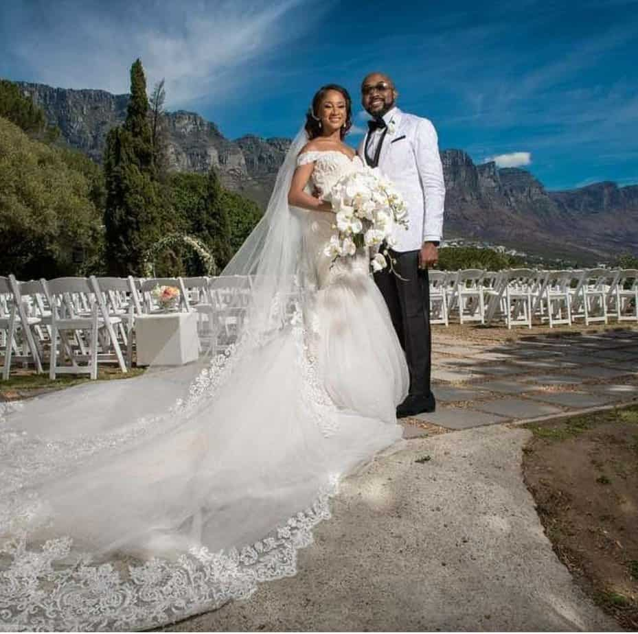 Adesua Etomi Who Is A Nollywood Actress Just Got Wedded To Singer Banky W In South African Church