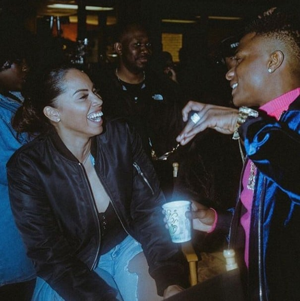 Wizkid Confirms Third Child 'Baby Boy'From His US Manager Jada Pollock.
