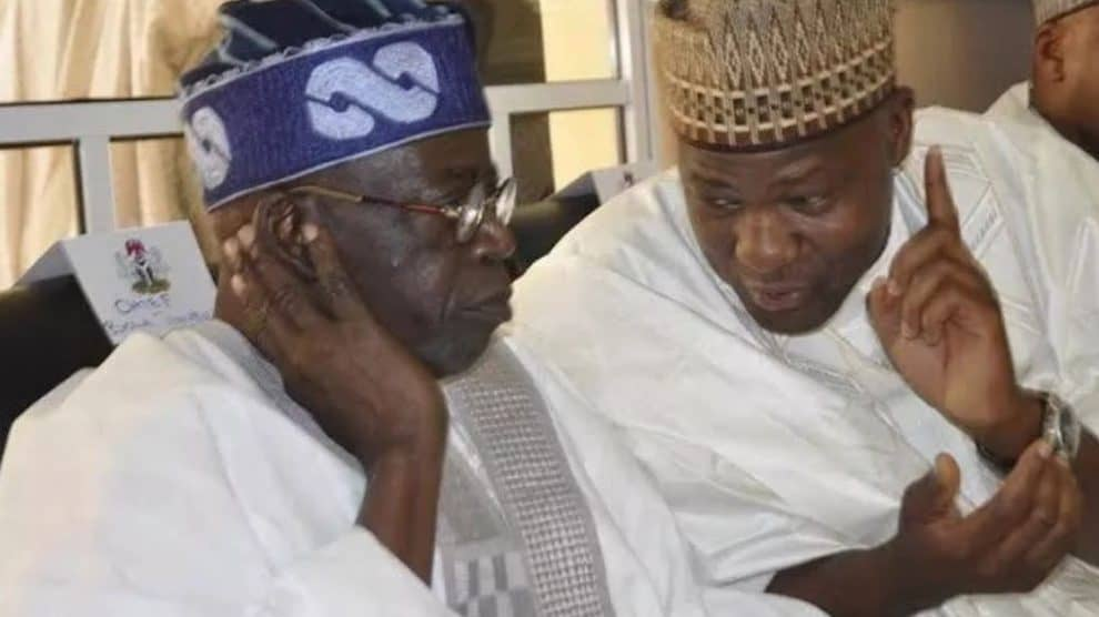 Dogara condoles with Tinubu over son's death